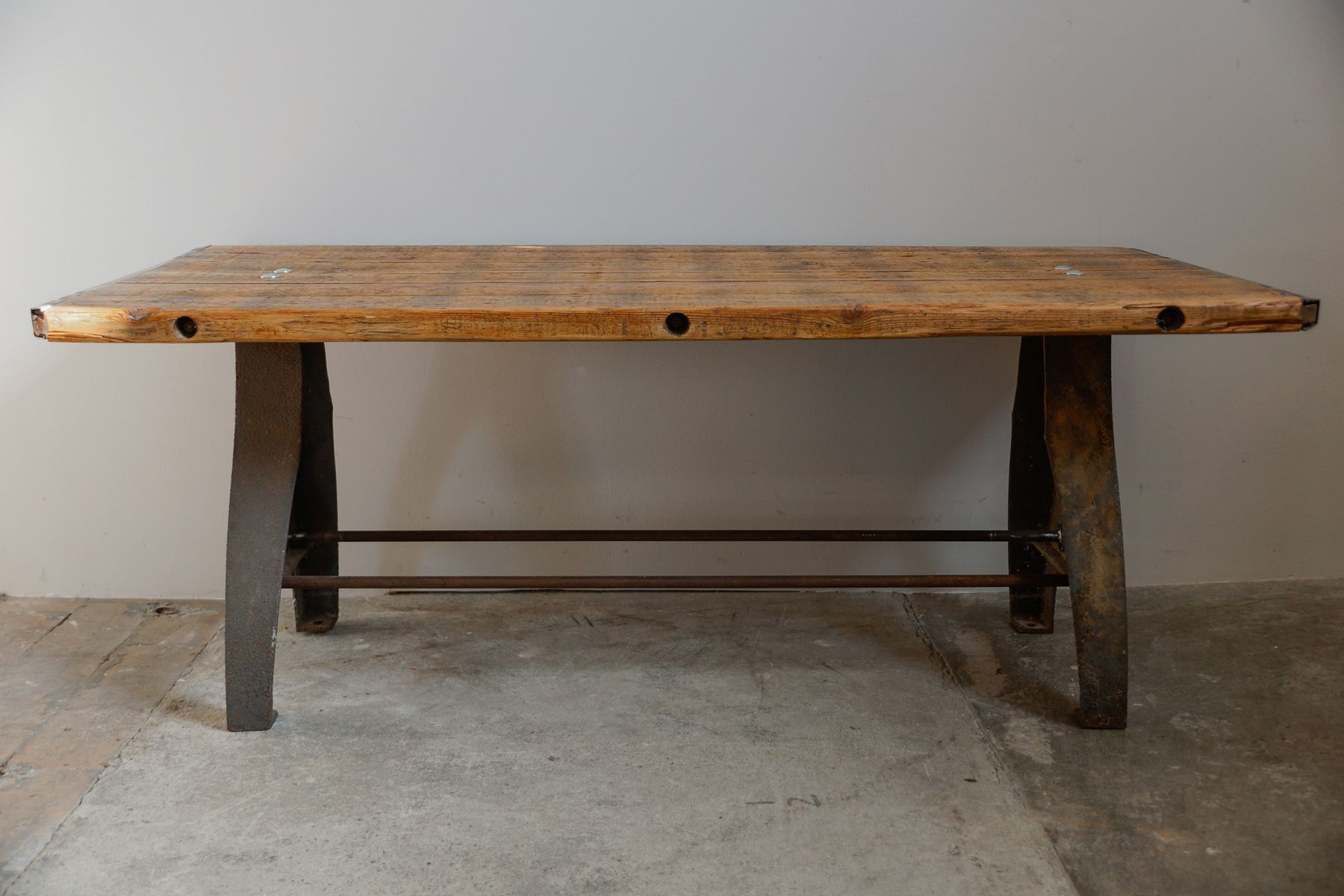 Vintage Industrial Machine Coffee Table For Sale At Pamono