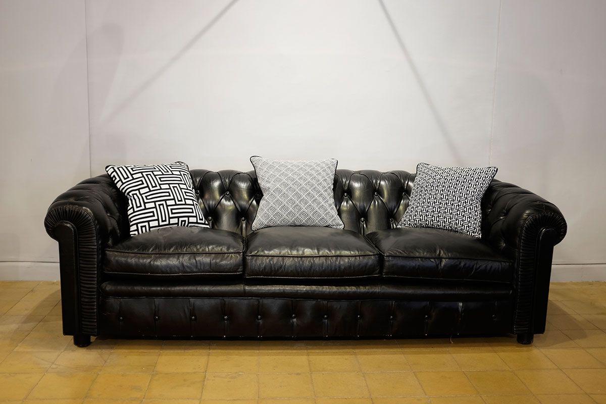 Vintage Chesterfield Sofa Bei Pamono Kaufen