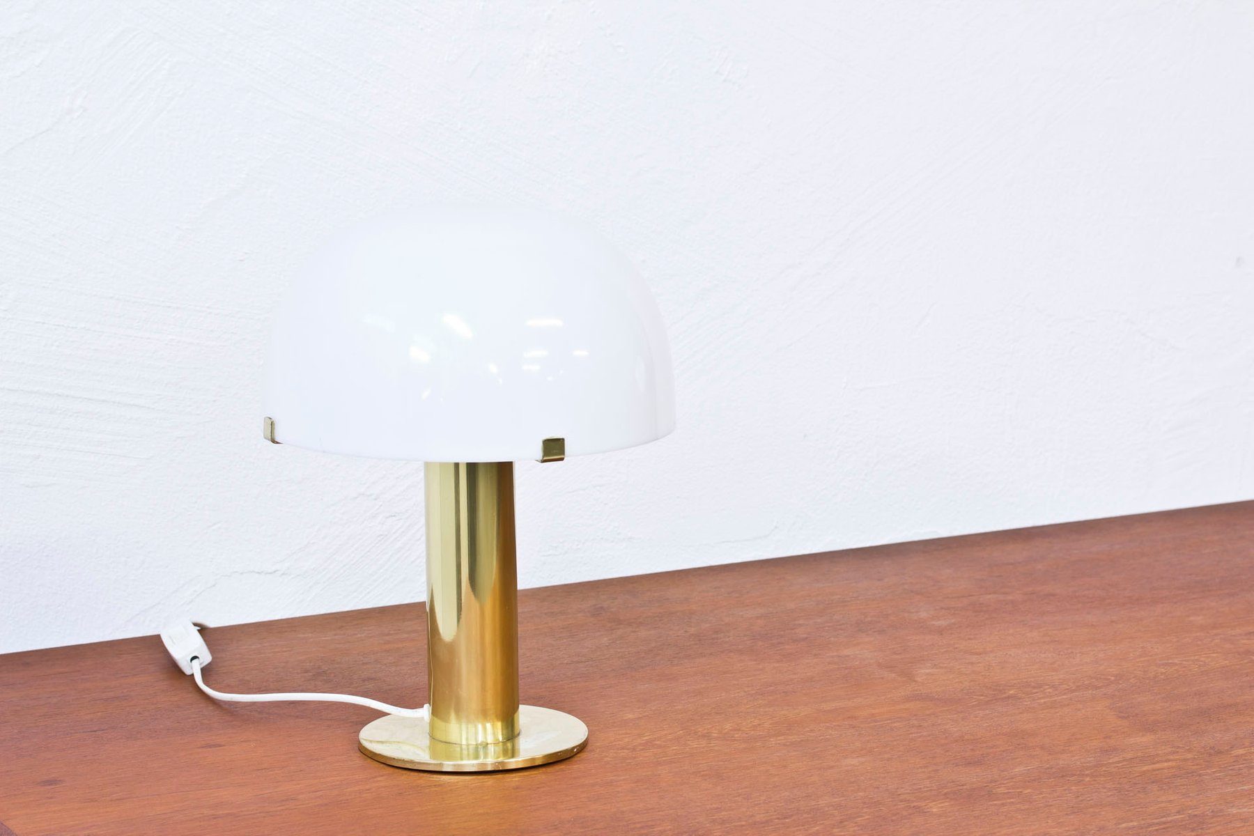 vintage brass table lamp by m ller armatur 1960s for sale. Black Bedroom Furniture Sets. Home Design Ideas