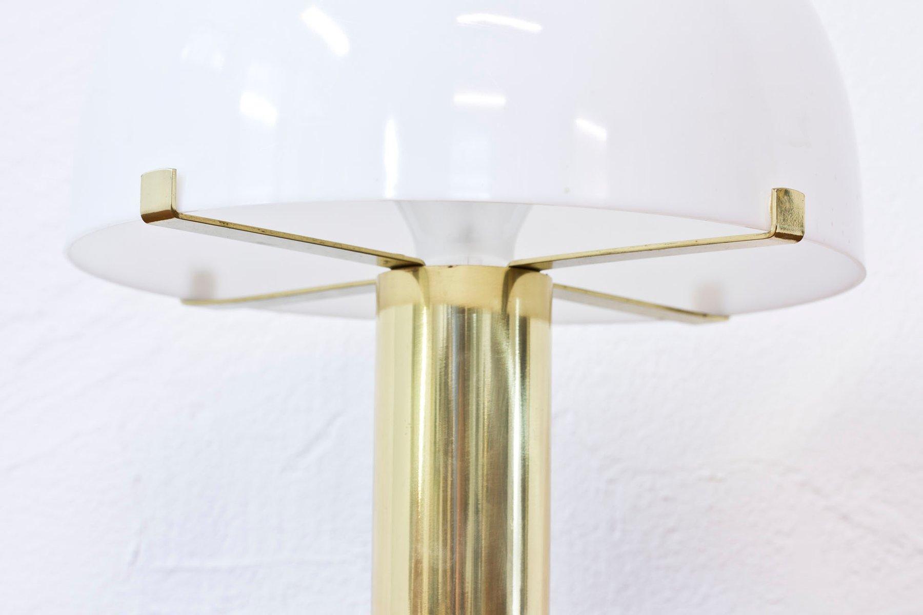 Lampada Da Tavolo Vintage In Ottone Di Moller Armatur