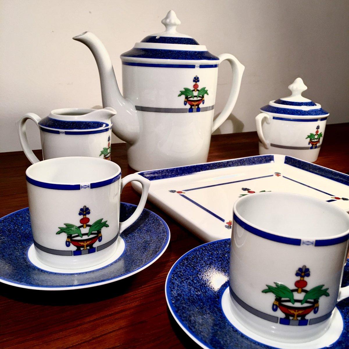 La Maison Venitienne Coffee Set From Cartier 1989 For