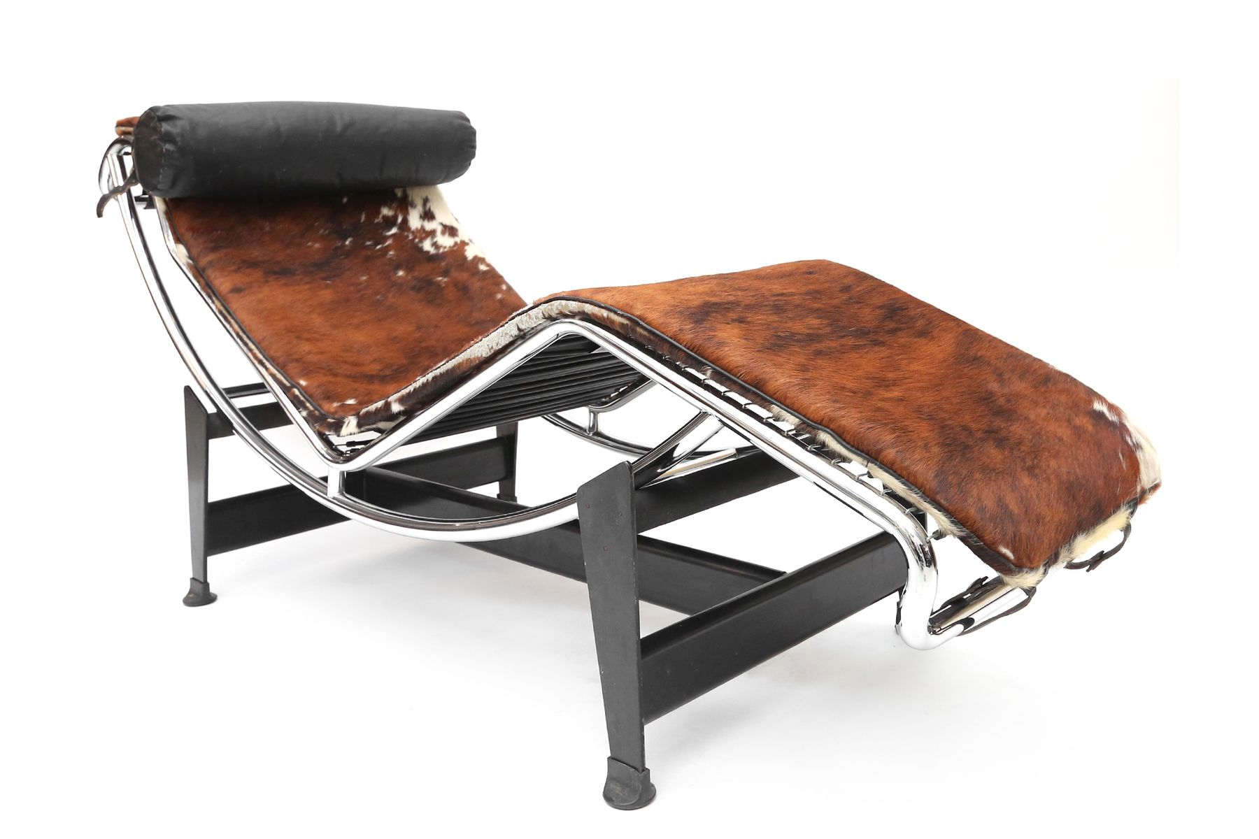 Vintage corbusier chair - Vintage Lc 4 Chaise Lounge By Le Corbusier Jeanneret Perriand For Cassina