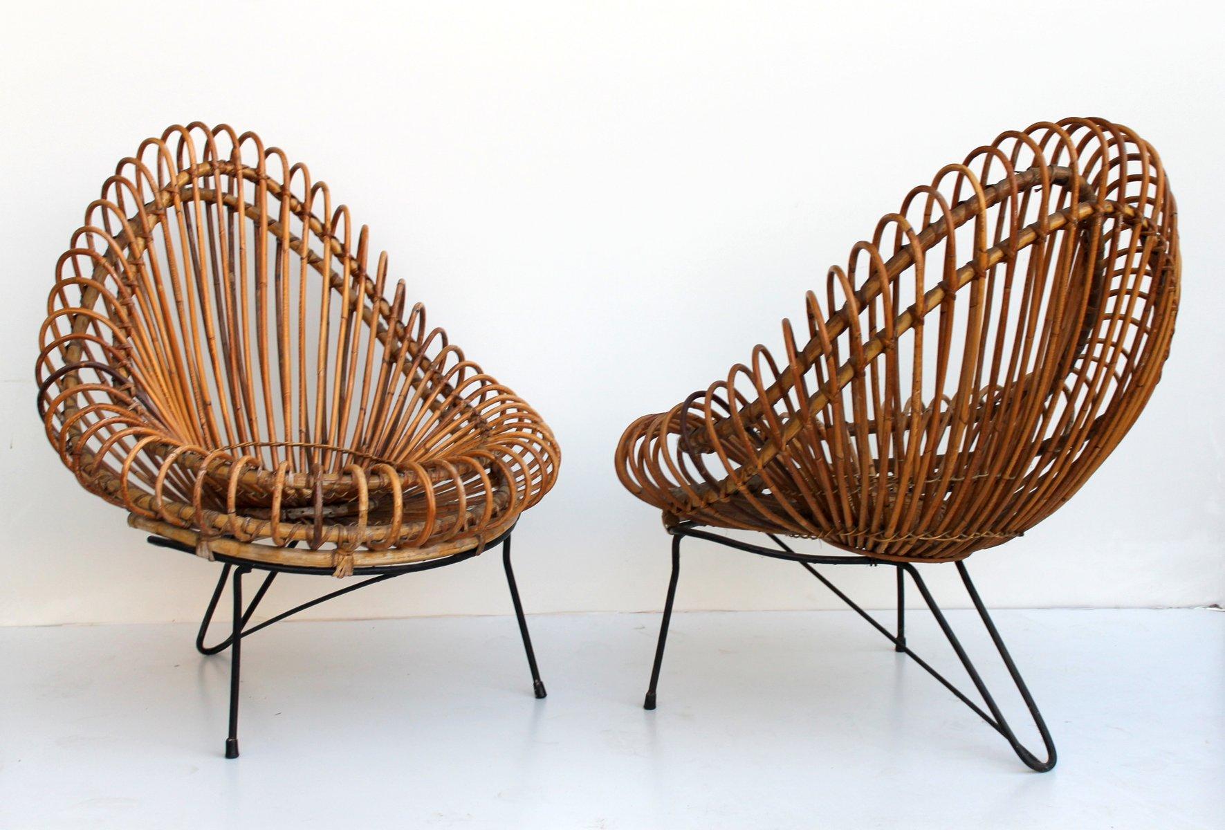 flechtwaren sessel und tisch von janine abraham dirk jan rol f r edition rougier 1955 bei. Black Bedroom Furniture Sets. Home Design Ideas