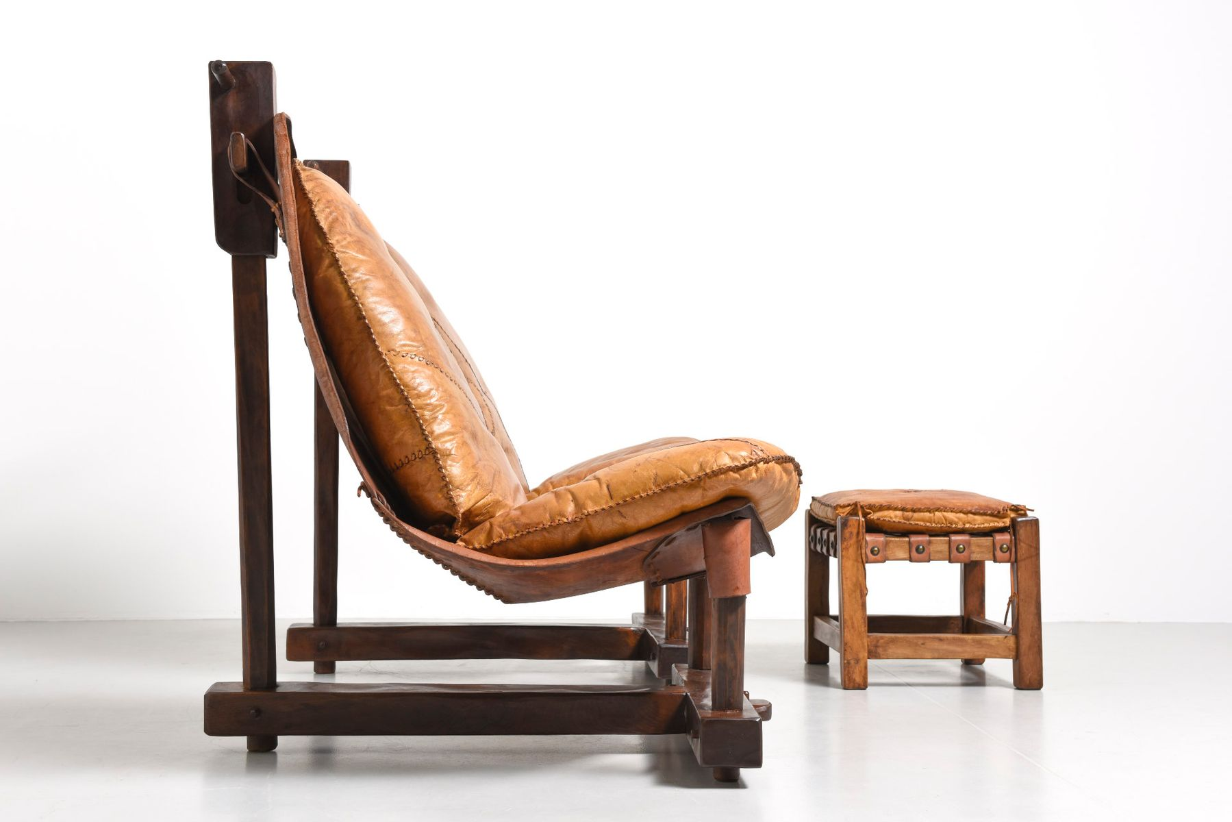 Vintage sessel ottomane im brasilianischen stil bei for Vintage sessel berlin