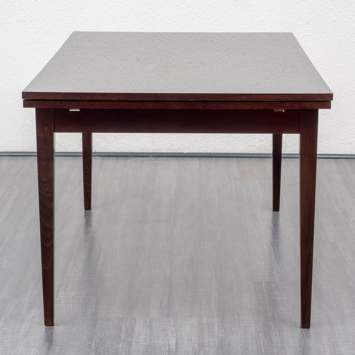 Extendable Mahogany Dining Table 1960s For Sale At Pamono