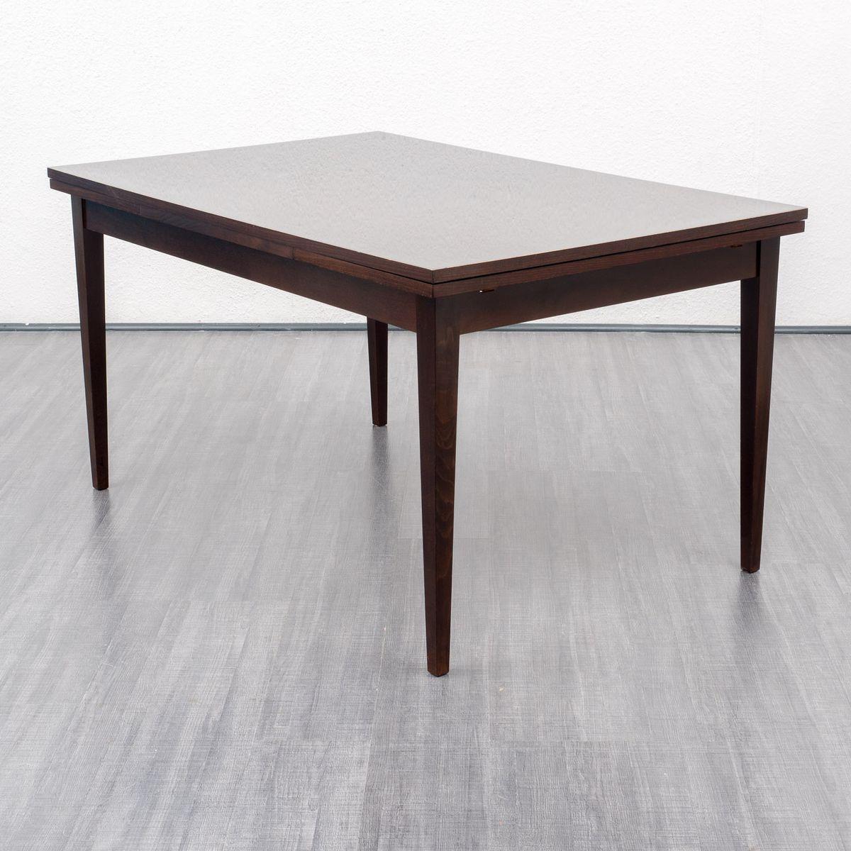 ausziehbarer mahagoni esstisch 1960er bei pamono kaufen. Black Bedroom Furniture Sets. Home Design Ideas