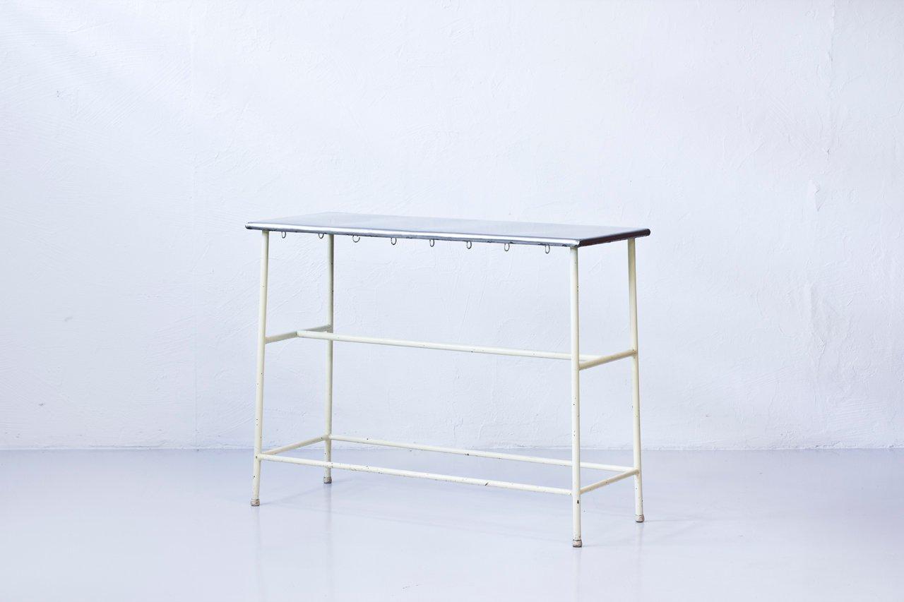 hoher industrieller krankenhaus tisch bei pamono kaufen. Black Bedroom Furniture Sets. Home Design Ideas