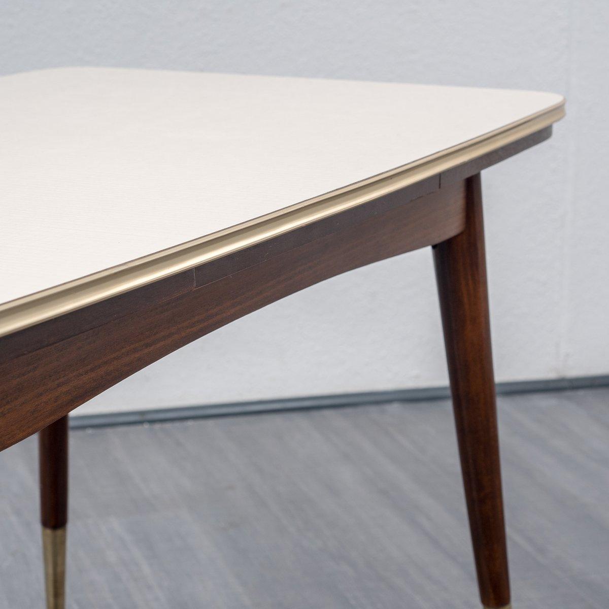 table de salon hauteur ajustable rallonge 1950s en vente sur pamono. Black Bedroom Furniture Sets. Home Design Ideas