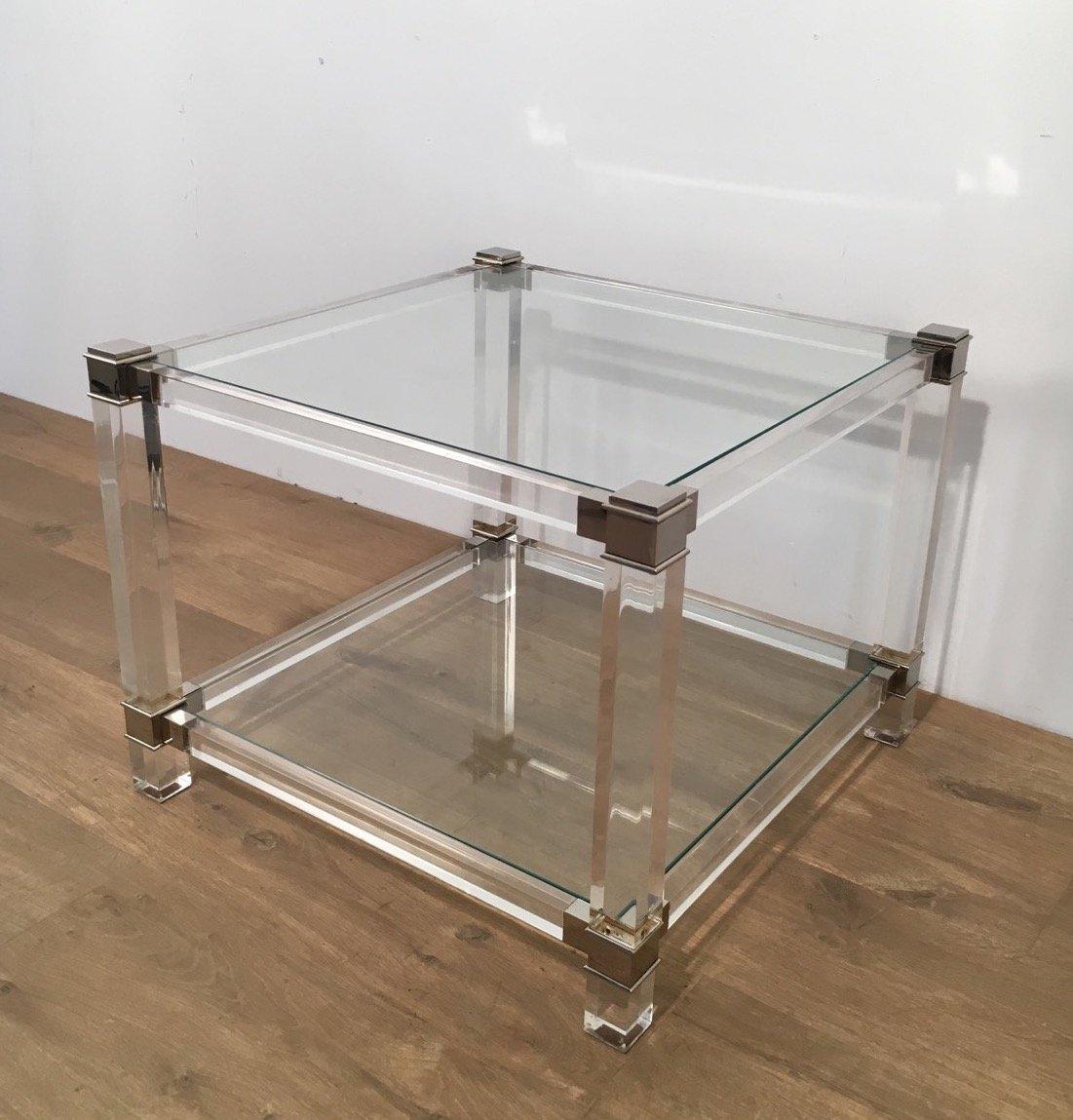 beautiful table chevet plexiglas with chevet plexiglas. Black Bedroom Furniture Sets. Home Design Ideas