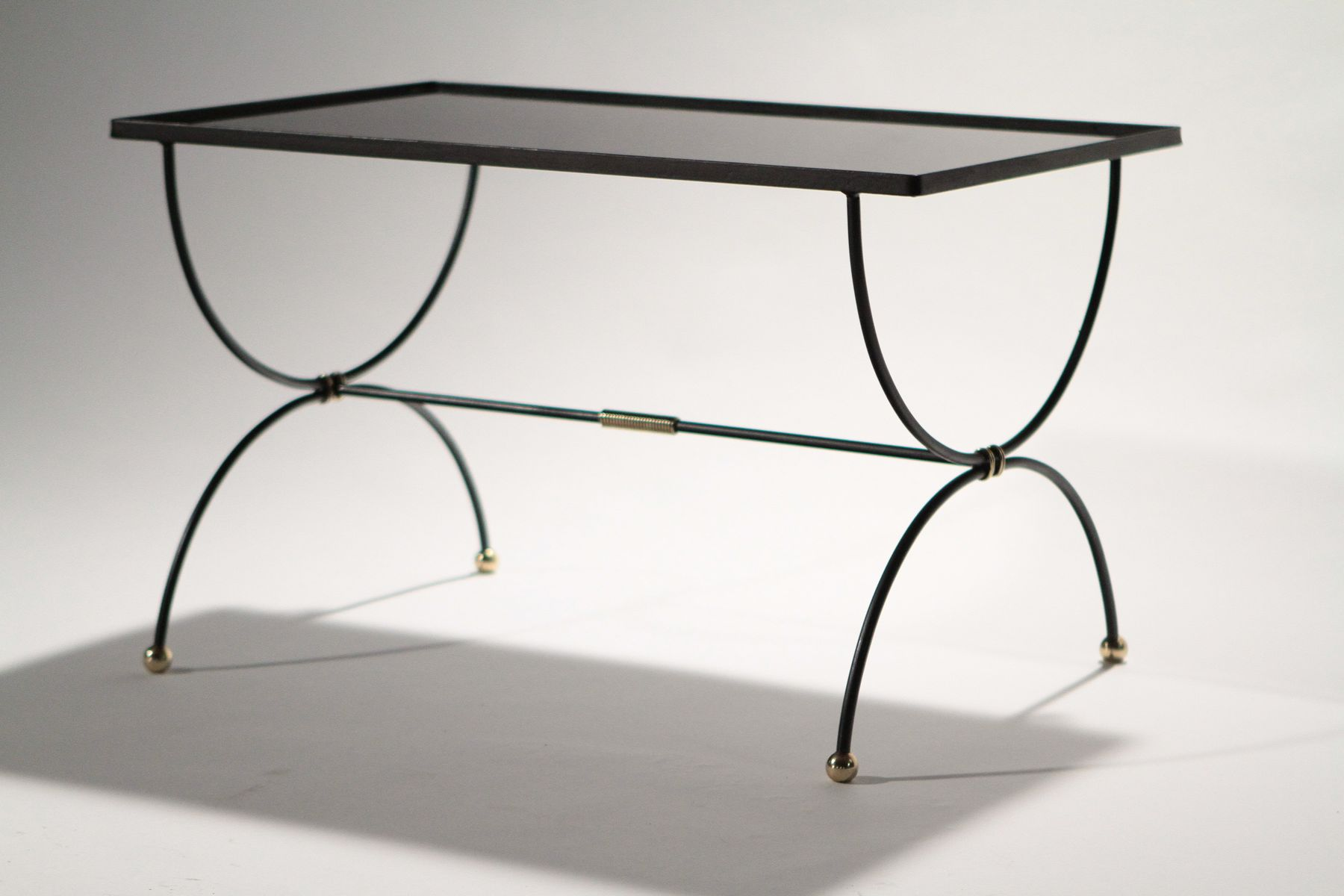mid century wrought iron coffee table 1950s for sale at pamono