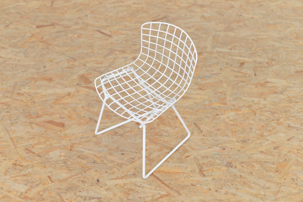 Vintage children 39 s chair by harry bertoia for knoll for for Bertoia chaise prix