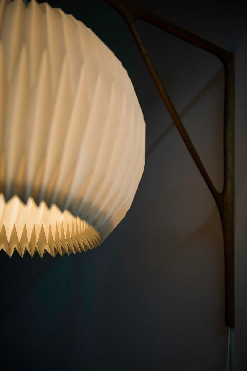 Scandinavian Wall Lamp from Le Klint 1950s for sale at Pamono