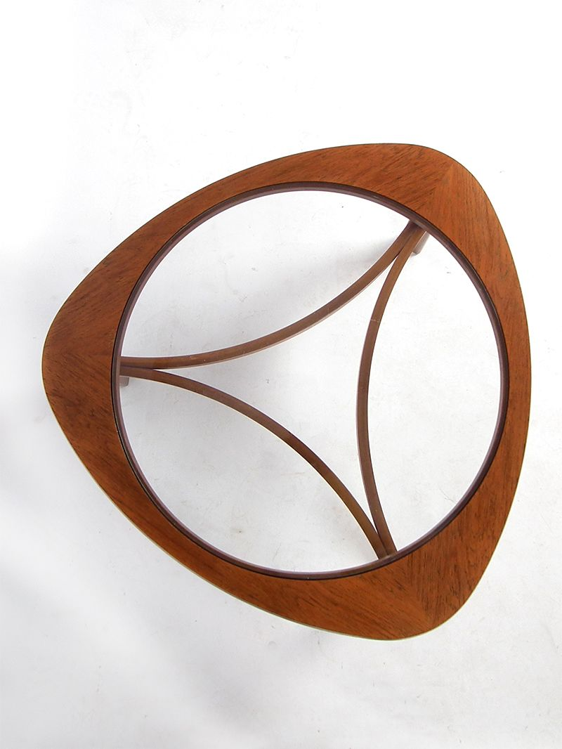 Teak And Glass Coffee Table Mid Century Teak Glass Coffee Table For Sale At Pamono