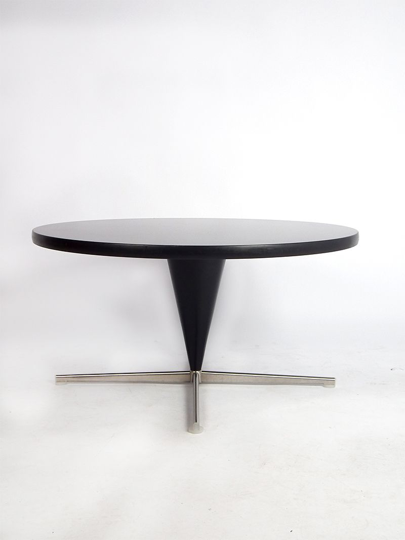 cone table by verner panton 1958 for sale at pamono. Black Bedroom Furniture Sets. Home Design Ideas