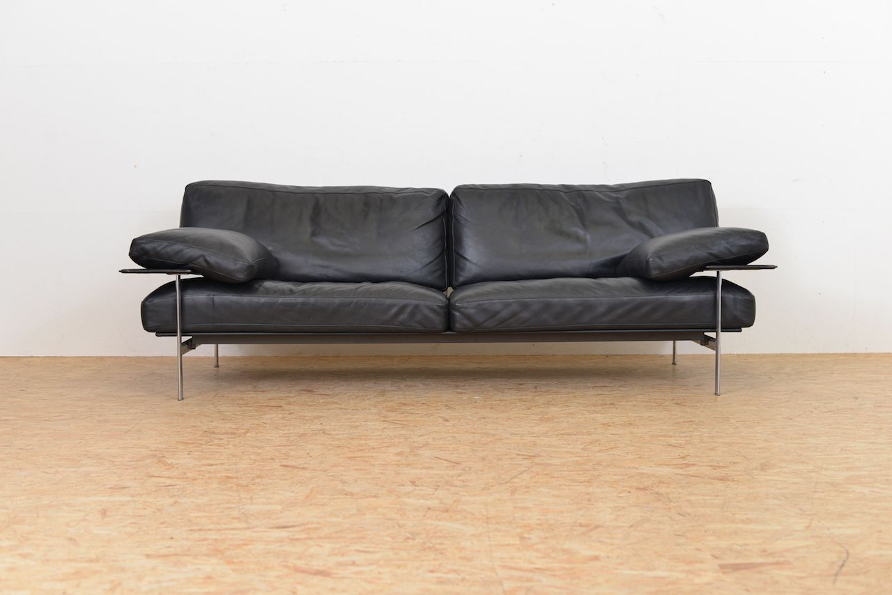 Vintage Diesis Leather Sofa By Antonio Citterio Paolo Nava For B B Italia For Sale At Pamono