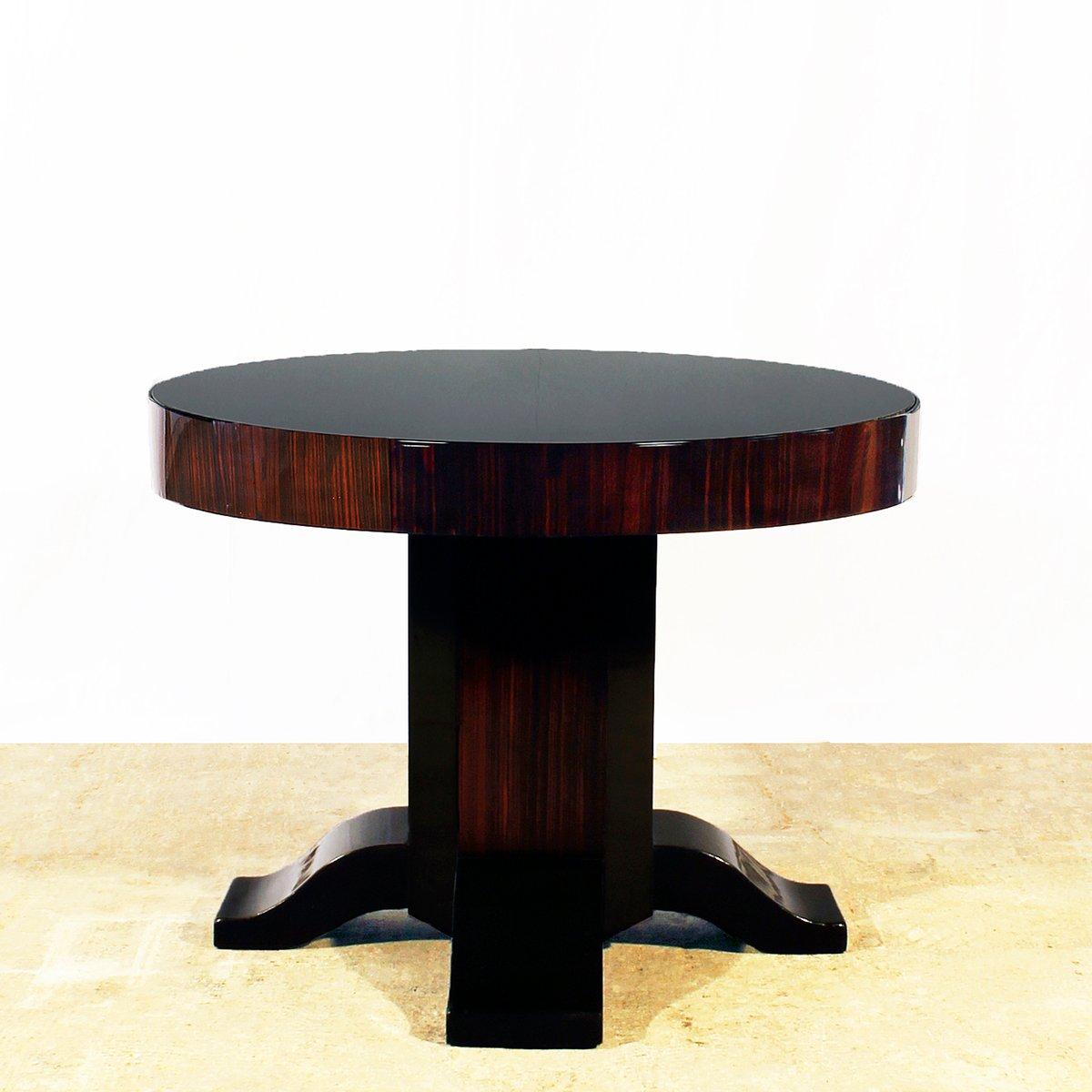 gro er art deco beistelltisch 1930er bei pamono kaufen. Black Bedroom Furniture Sets. Home Design Ideas