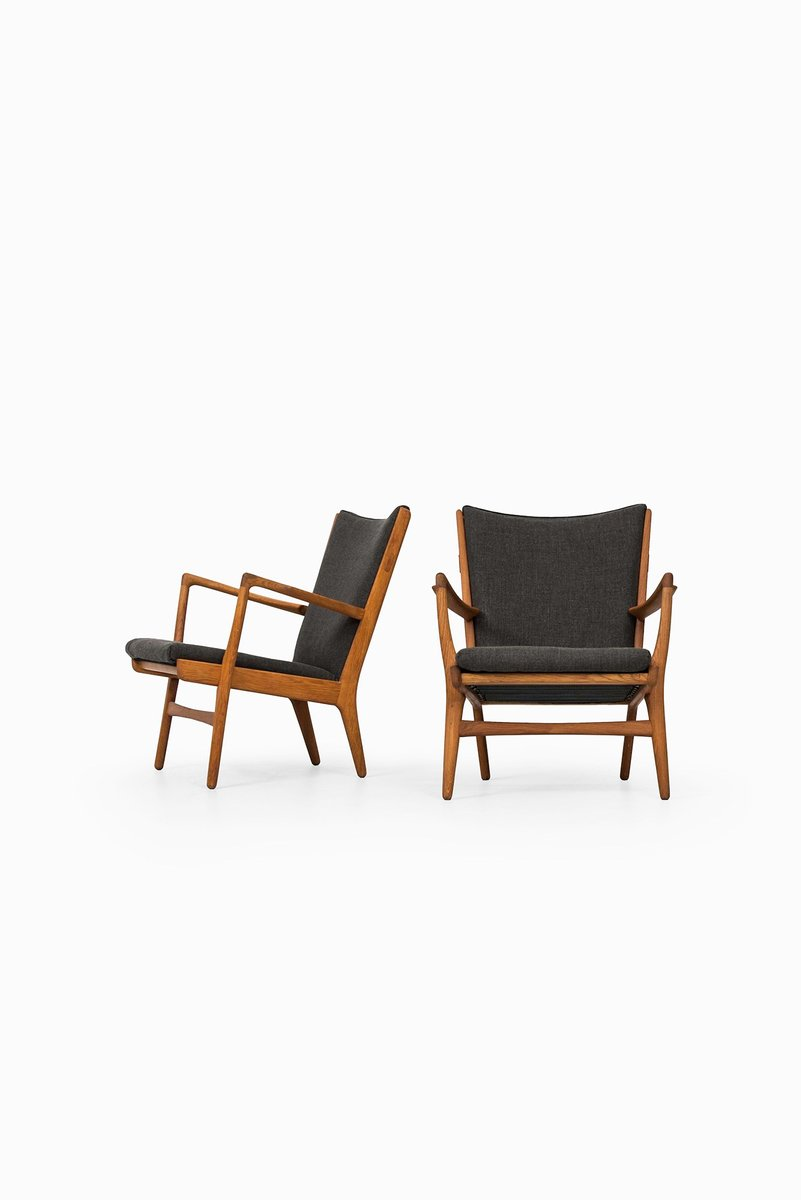 Mid Century AP 16 Easy Chairs By Hans Wegner For AP Stolen, Set Of 2