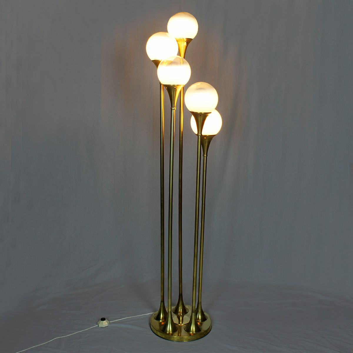 light floor lamp by goffredo reggiani 1960s for sale at pamono. Black Bedroom Furniture Sets. Home Design Ideas