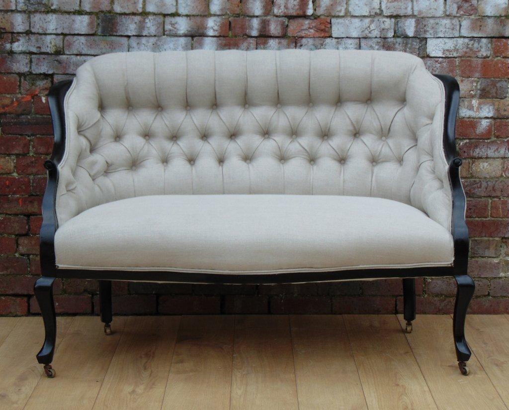 antikes englisches salon sofa bei pamono kaufen. Black Bedroom Furniture Sets. Home Design Ideas
