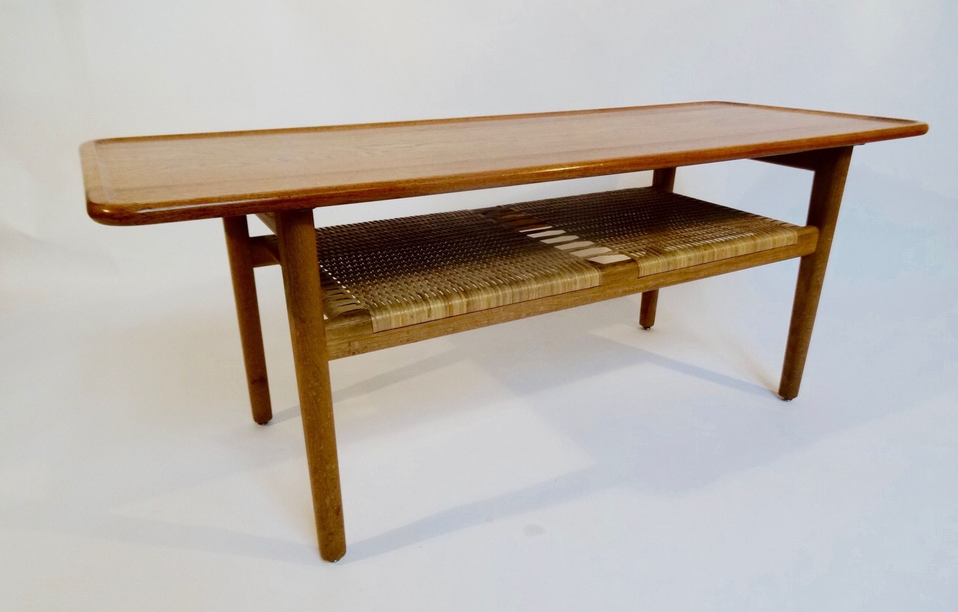 At 10 Oak Coffee Table By Hans Wegner For Andreas Tuck 1959 For Sale At Pamono