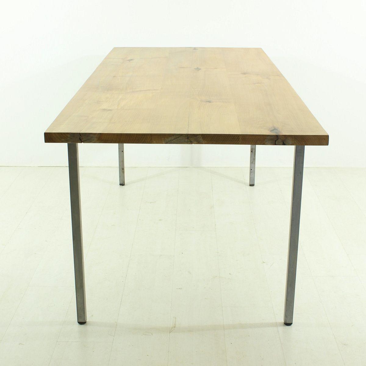 Vintage tisch aus massivem kirschholz bei pamono kaufen for Vintage tisch