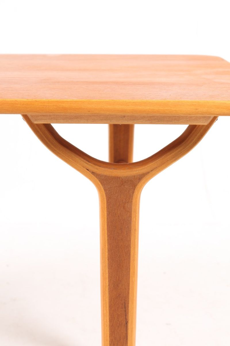 Teak Beech Coffee Table By Peter Hvidt Orla M Lgaard Nielsen For Fritz Hansen 1950s