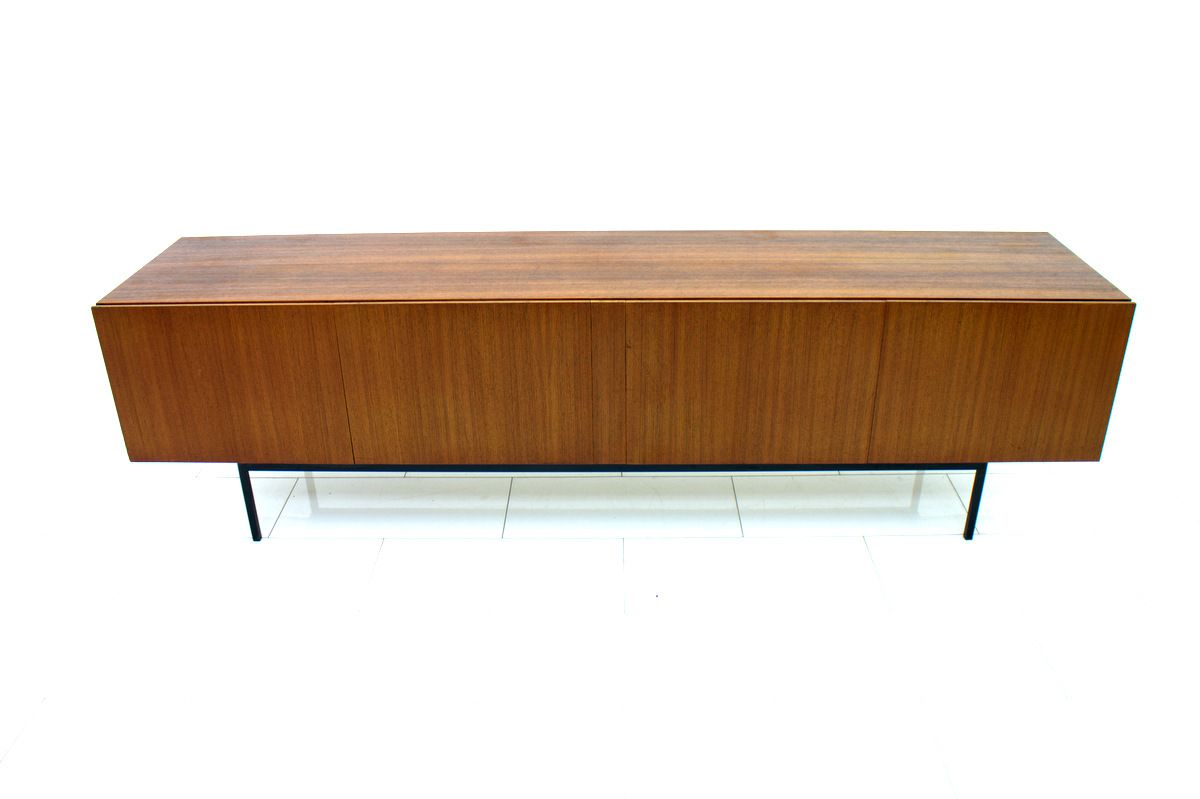 Vintage b40 teak sideboard von dieter w ckerlin f r behr for Sideboard untergestell