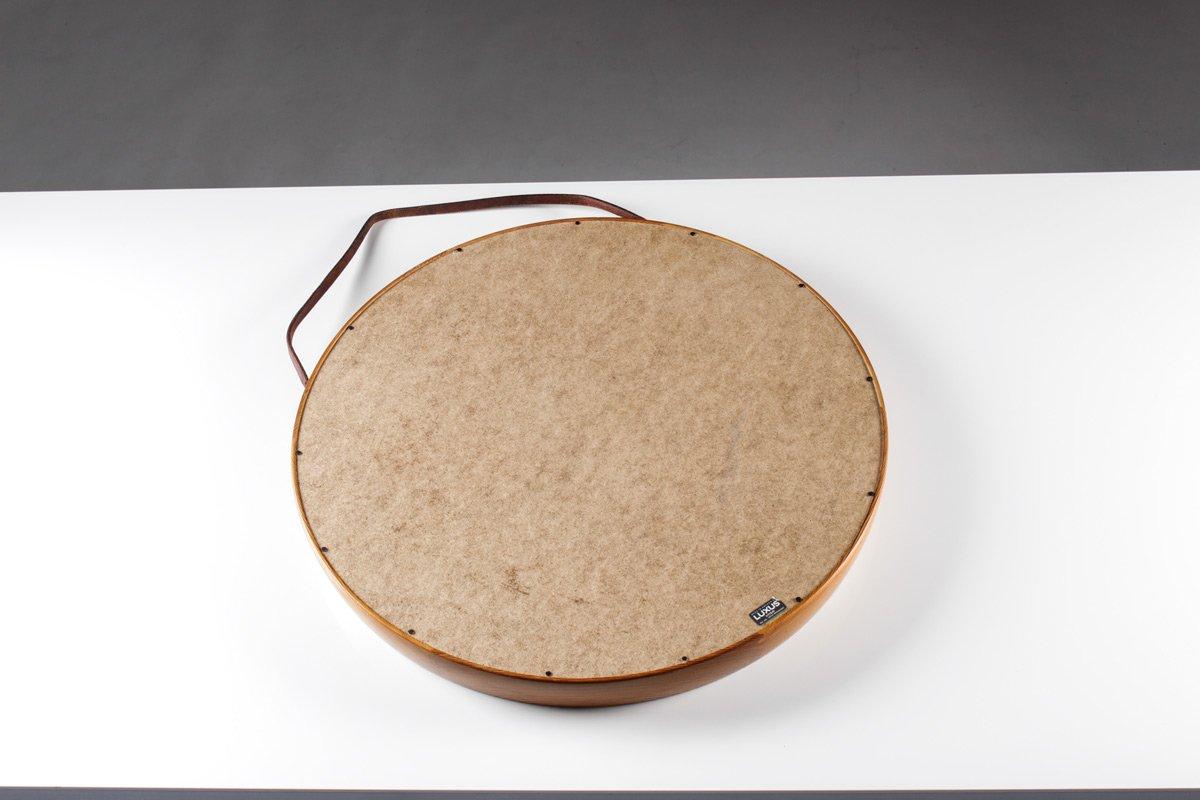 spiegel mit rahmen aus kiefernholz von uno sten. Black Bedroom Furniture Sets. Home Design Ideas