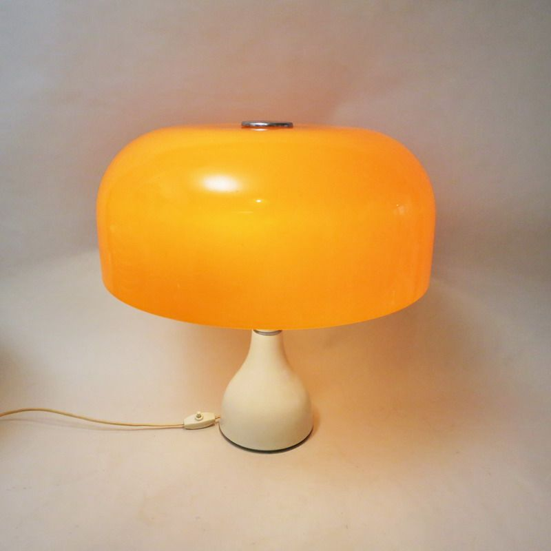 gro e pilz lampe 1970er bei pamono kaufen. Black Bedroom Furniture Sets. Home Design Ideas