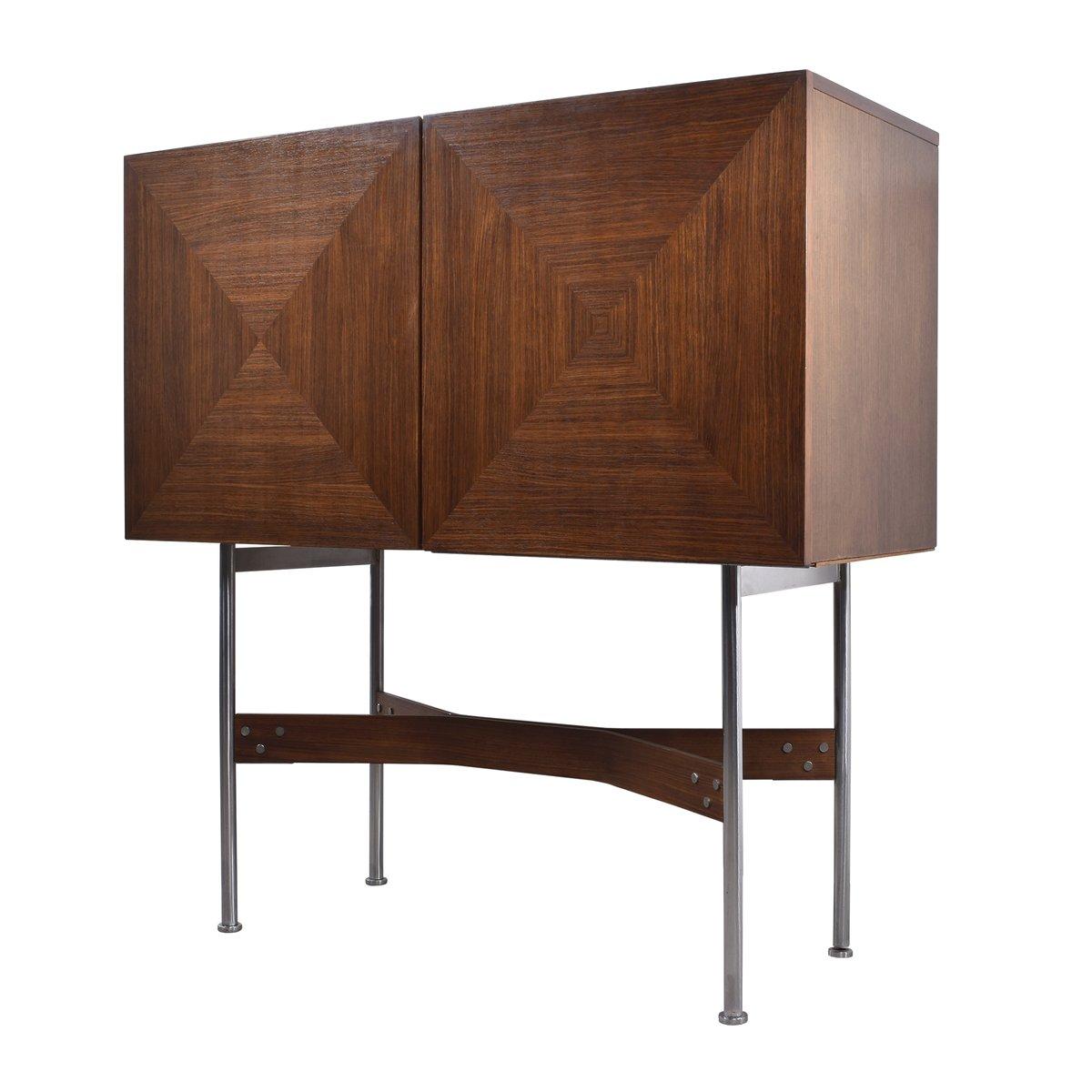 niederl ndischer vintage barschrank von rudolf bernd. Black Bedroom Furniture Sets. Home Design Ideas