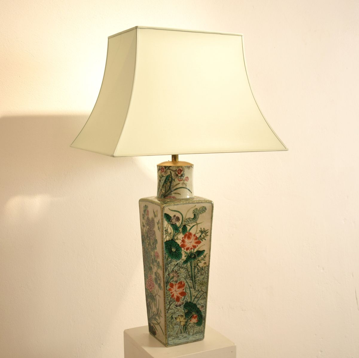 Ceramic table lamps currey u0026 co archer red ceramic table 19th century chinese ceramic table lamp 3 previous geotapseo Choice Image