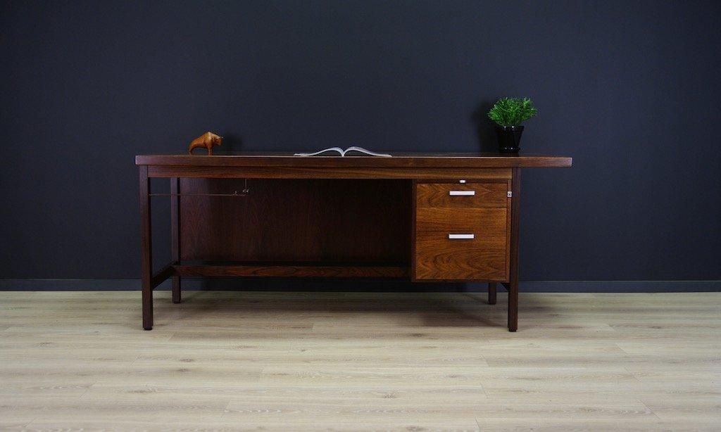 d nisches palisander schreibtisch set 1980er bei pamono. Black Bedroom Furniture Sets. Home Design Ideas