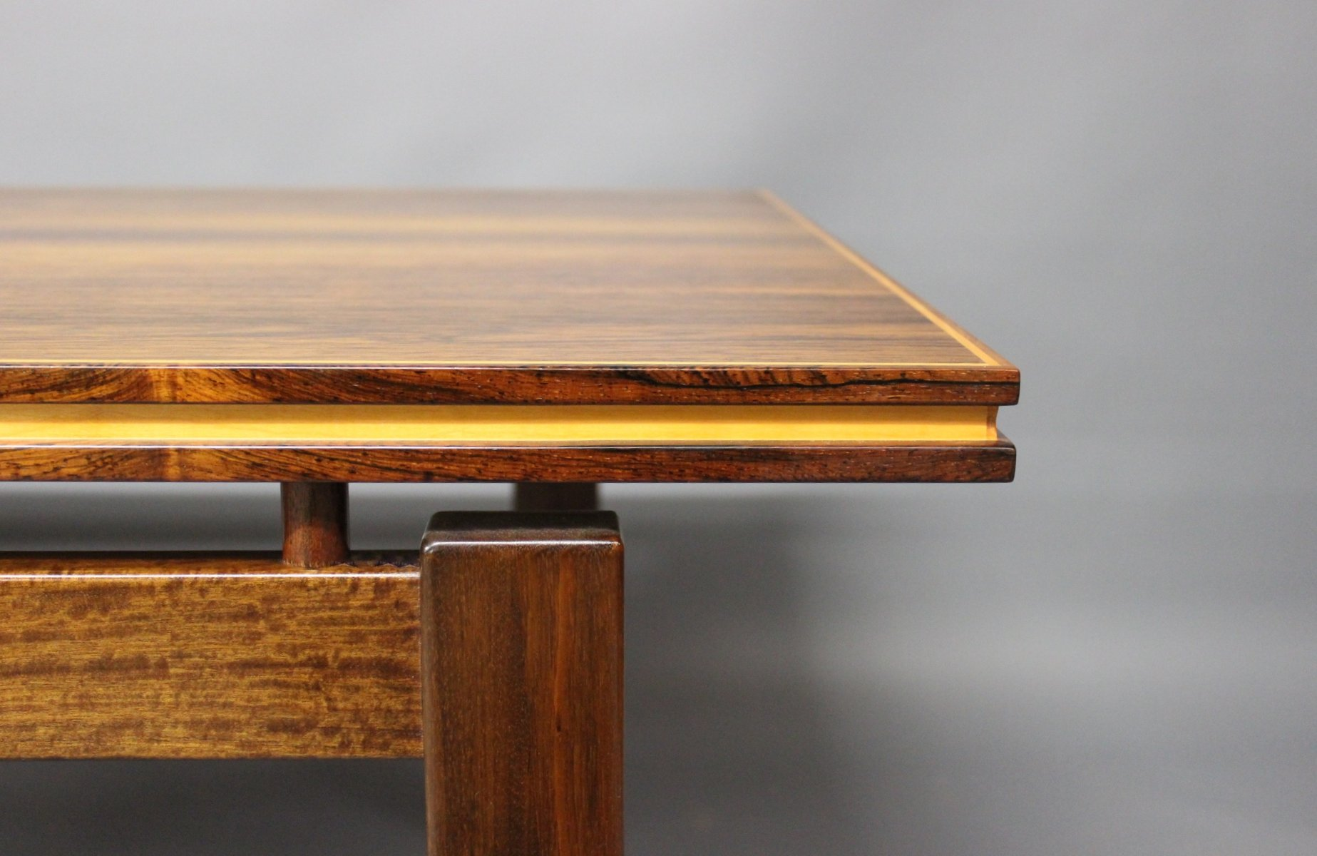 Floating Coffee Table Danish Rosewood Coffee Table With Floating Top 1960s For Sale At