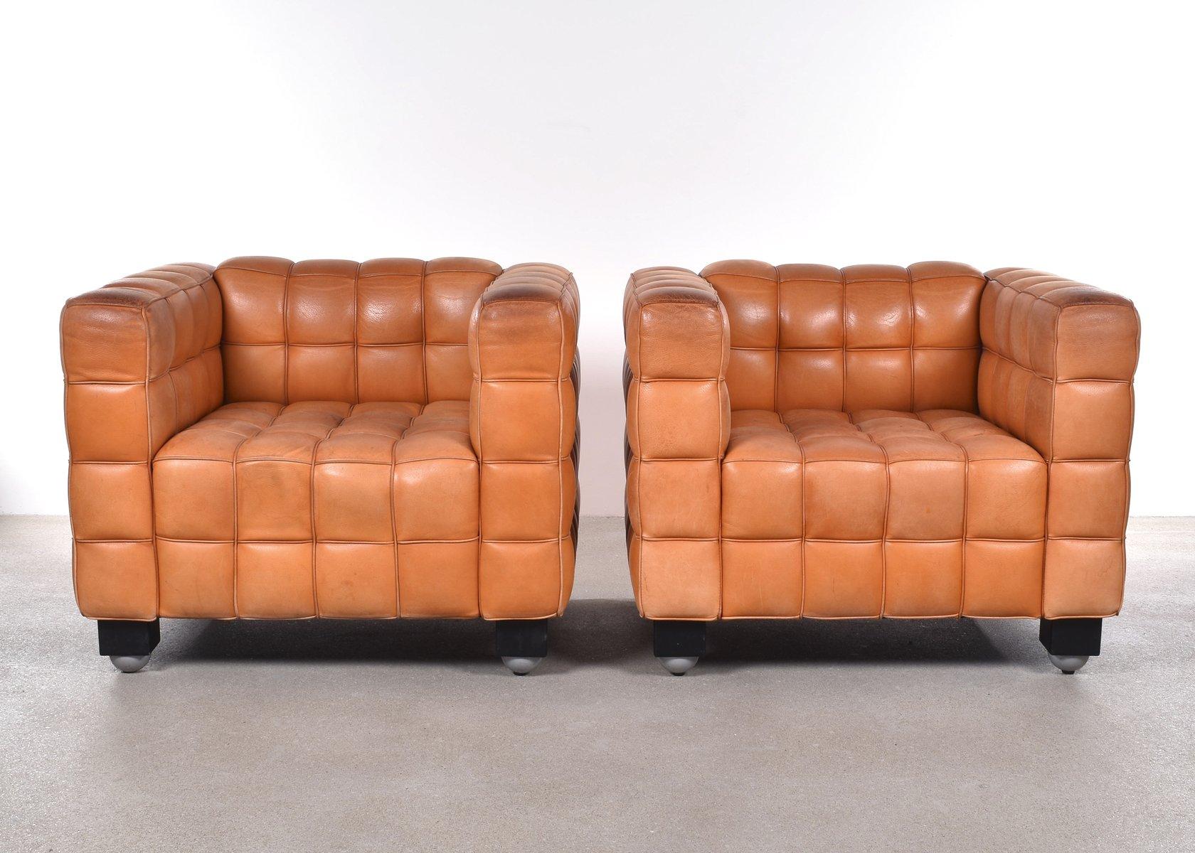 kubus sessel von josef hoffmann f r wittmann bei pamono kaufen. Black Bedroom Furniture Sets. Home Design Ideas