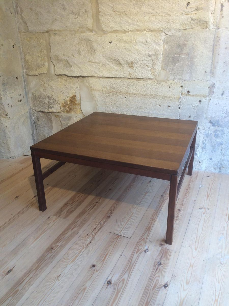 Teak Square Coffee Table From Arbatove For Sale At Pamono