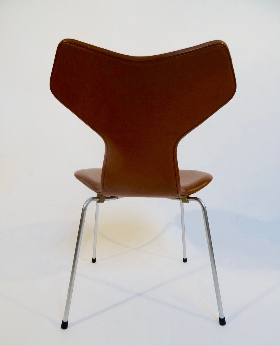 Grand prix chair by arne jacobsen for fritz hansen 1964 for sale at pamono - Chaise grand prix jacobsen ...