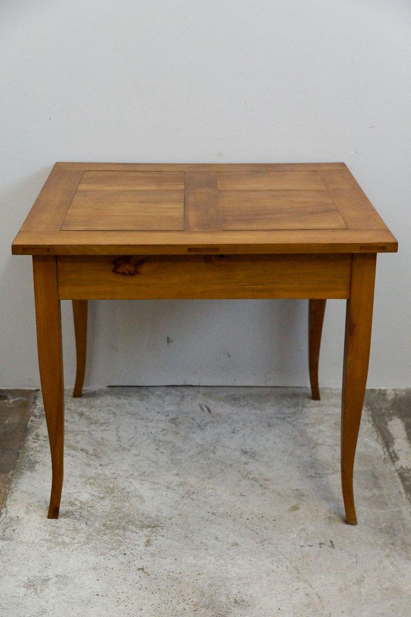 petite table de salle manger biedermeier en merisier. Black Bedroom Furniture Sets. Home Design Ideas