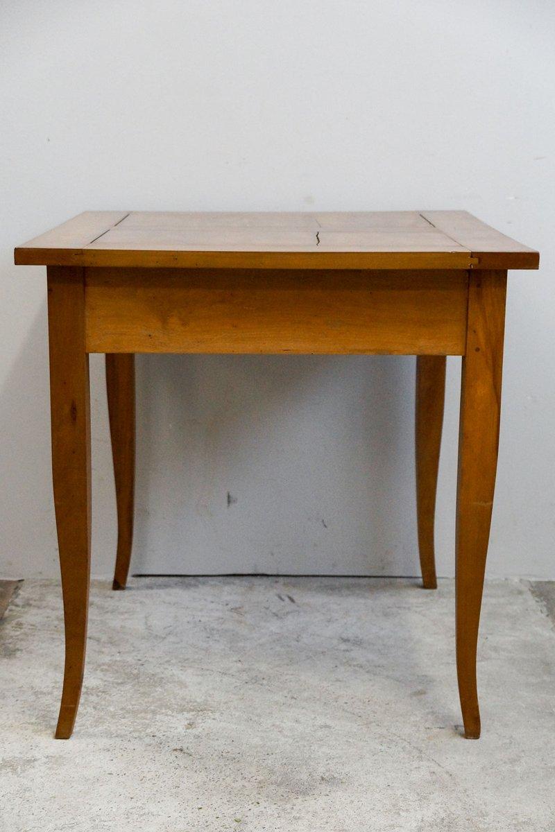 Small cherry biedermeier dining table 1820s for sale at for Small dining tables for sale