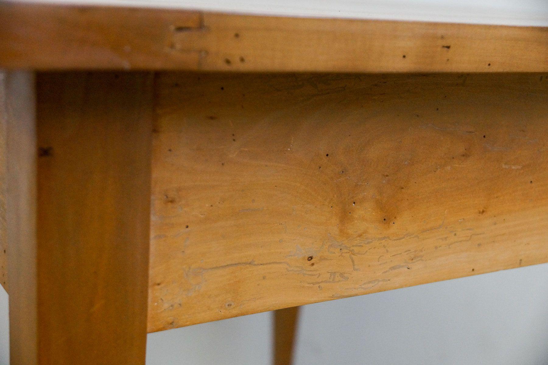 Petite table de salle manger biedermeier en merisier - Petite table de salle a manger ...
