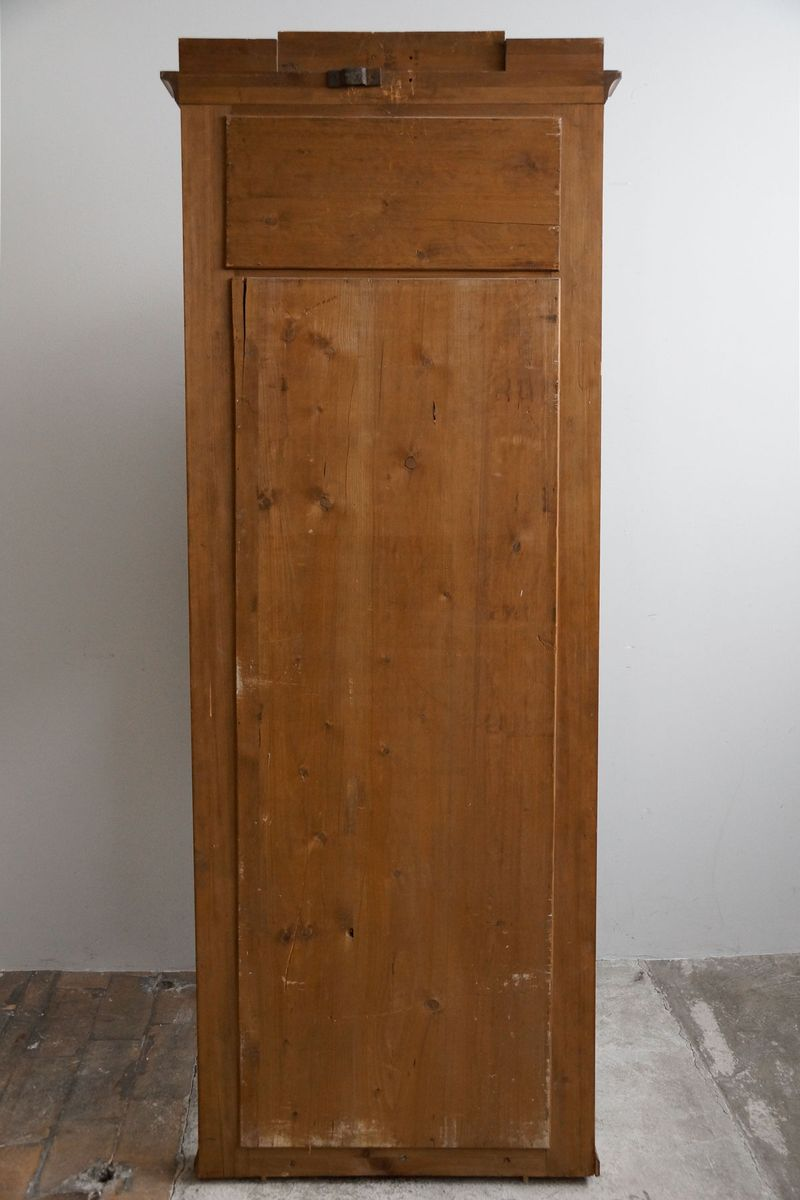 Hoher schmaler kirschholz konsolentisch 1850er bei pamono for Schmaler hoher schuhschrank