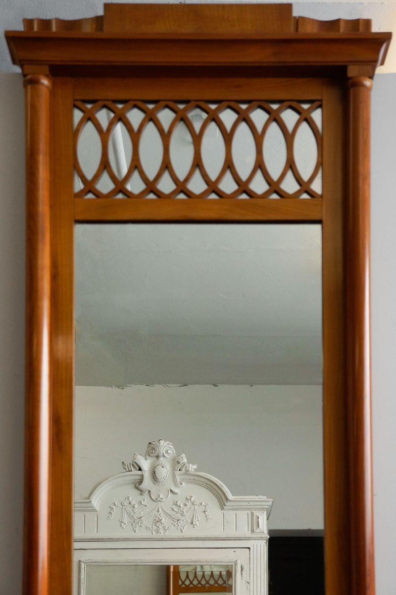 hoher schmaler kirschholz konsolentisch 1850er bei pamono. Black Bedroom Furniture Sets. Home Design Ideas