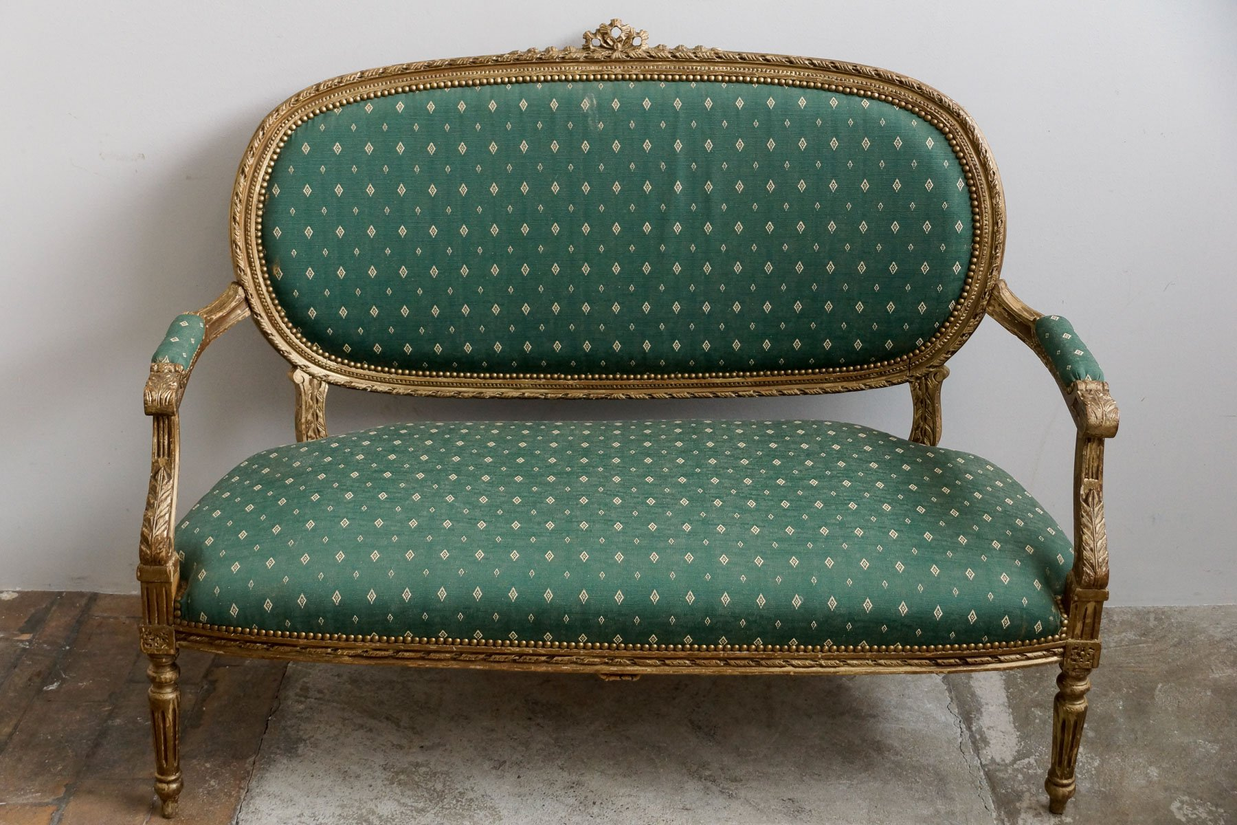 Louis XVI Style Two Seater Sofa with Armrests  1850s for sale at PamonoLouis XVI Style Two Seater Sofa with Armrests  1850s for sale at  . Louis Xvi Style Furniture For Sale. Home Design Ideas