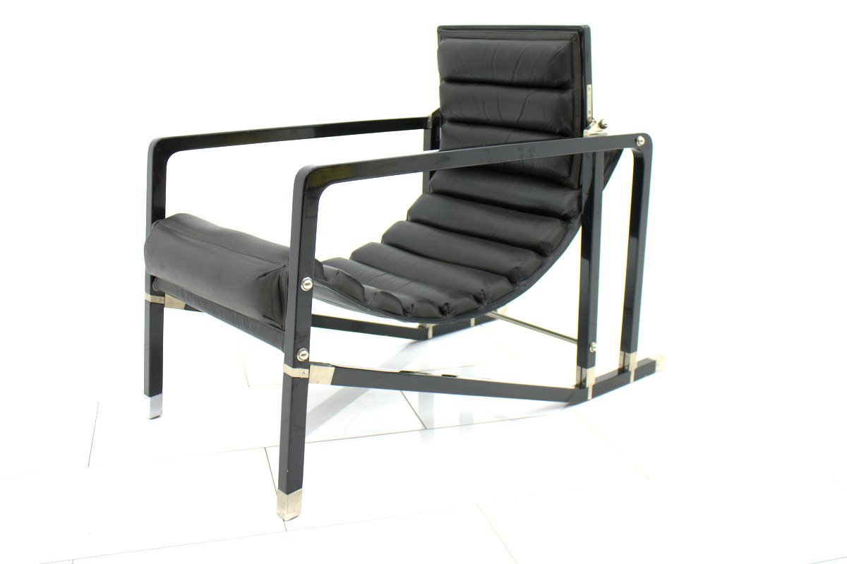 Transat lounge chair by eileen gray for ecart for 1980s chair