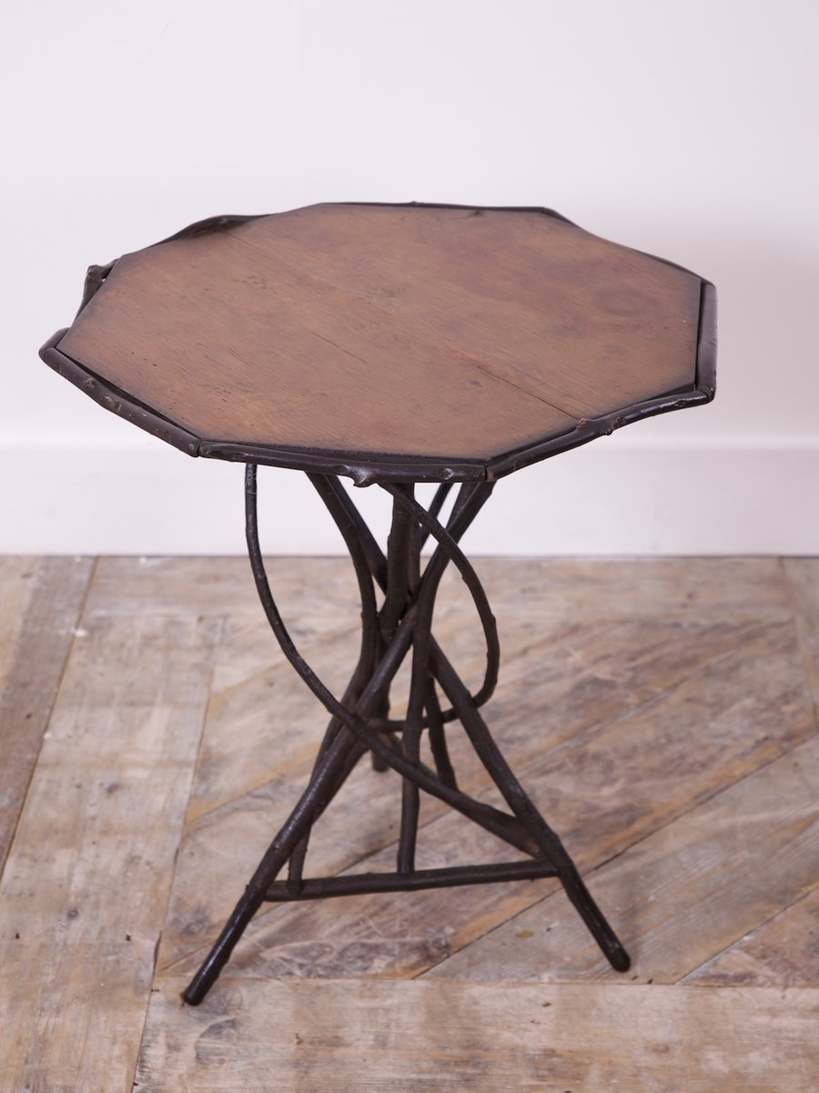 Table Centrale Twig, 1910s en vente sur Pamono -> Table Centrale