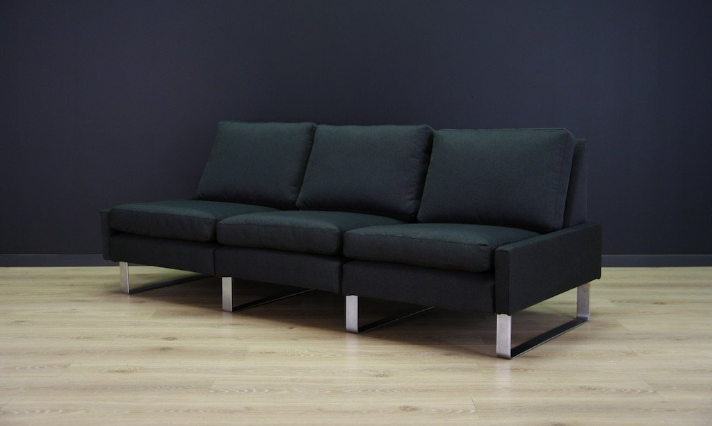 conseta three seater sofa by friedrich wilhelm m ller for cor 1960s for sale at pamono. Black Bedroom Furniture Sets. Home Design Ideas