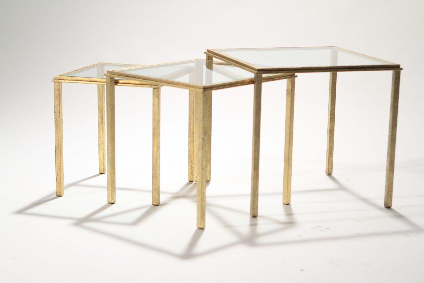 satztische von maison ramsay 1950er bei pamono kaufen. Black Bedroom Furniture Sets. Home Design Ideas