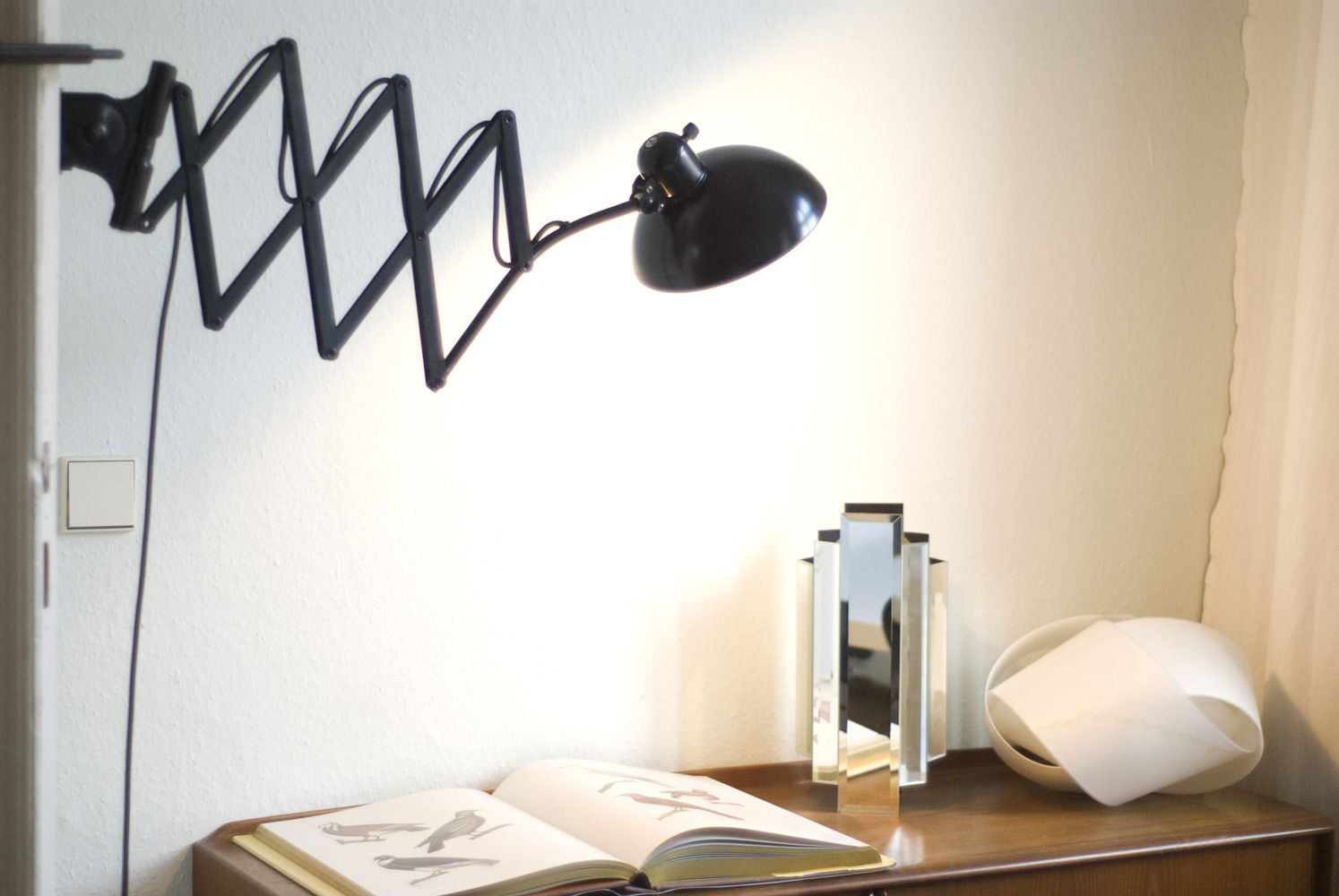 Large 6614 Scissor Lamp By Christian Dell For Kaiser Idell