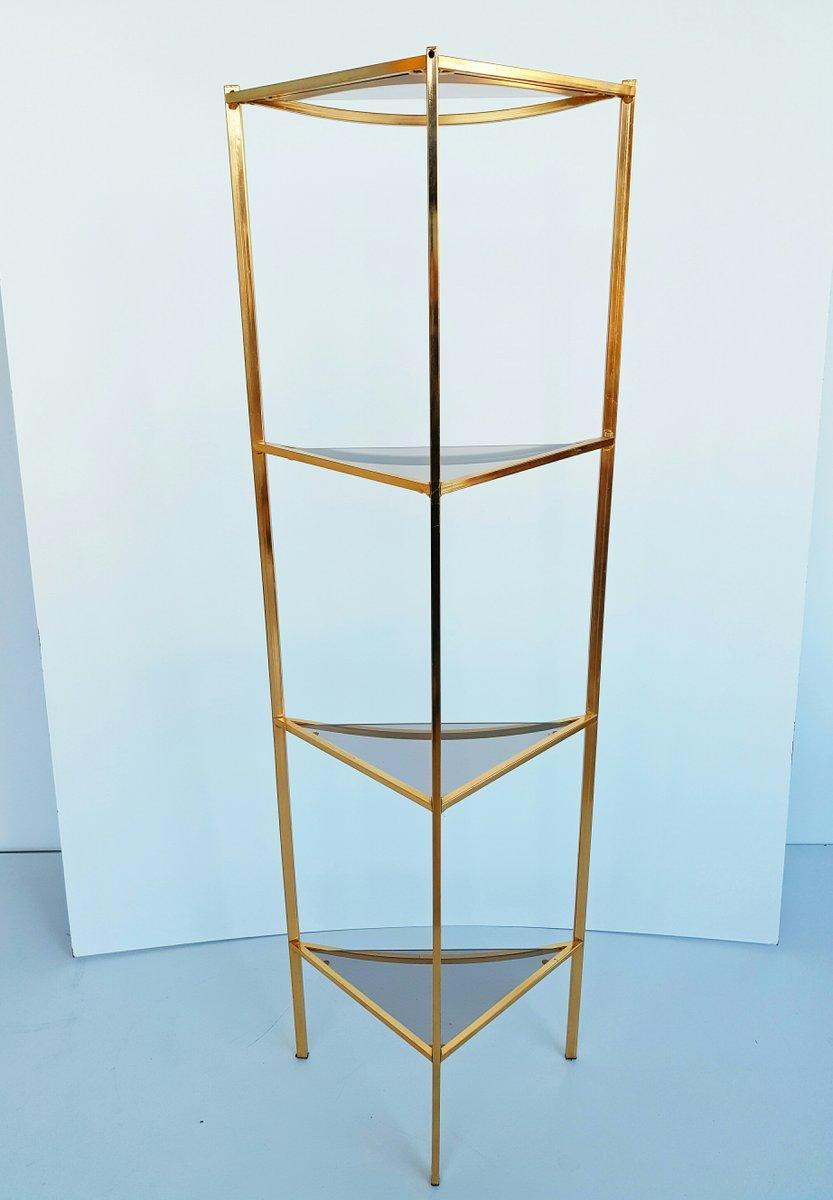 Glass Corner Shelf. Brass Bathroom Shelves. Glass Shelves For Shower ...