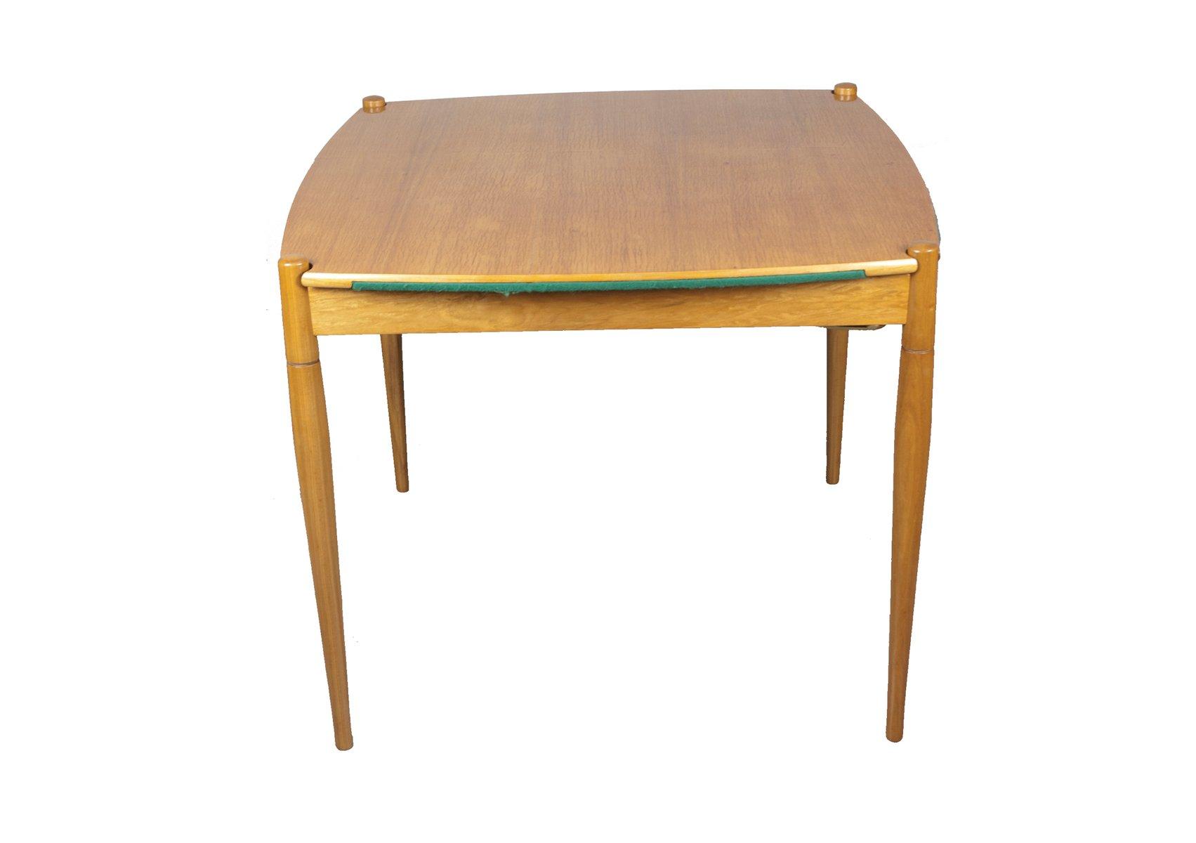 Table de jeu et chaises par gio ponti en vente sur pamono for Table de 8 et 9