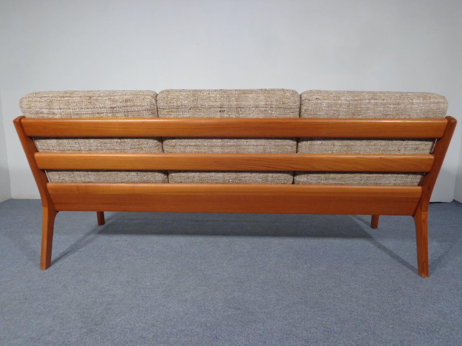 mid century senator teak living room set by ole wanscher for cado for sale at pamono. Black Bedroom Furniture Sets. Home Design Ideas